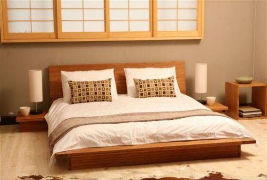 Giường ngủ gỗ tự nhiên cao cấp