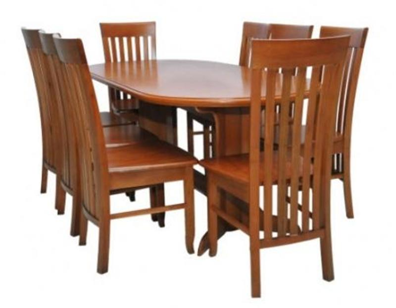 Bàn ghế ăn gỗ xoan đào