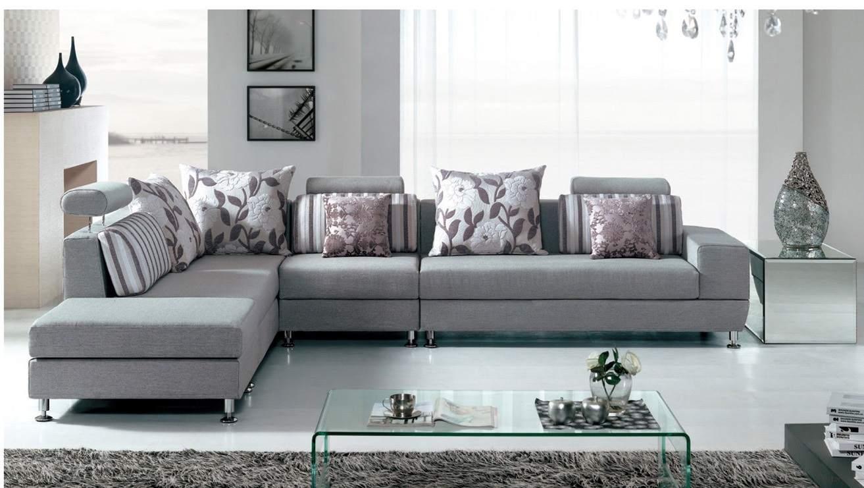 Bàn ghế Sofa nỉ phòng khách